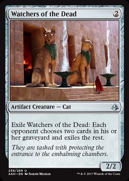 Watchers of the Dead - Foil