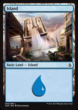 Island (259) - Foil