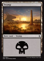 Swamp - Foil (262)(AKH)