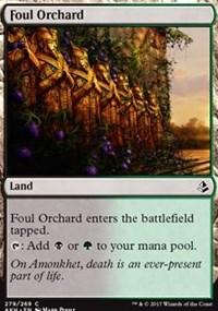 Foul Orchard (Amonkhet) - Planeswalker Deck Exclusive