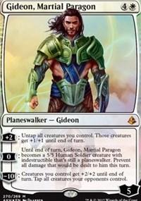 Gideon, Martial Paragon - Foil - Planeswalker Deck Exclusive