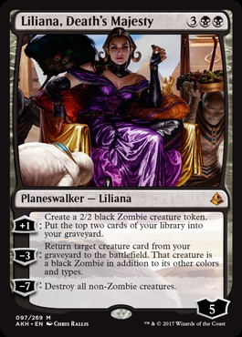 Liliana, Death's Majesty