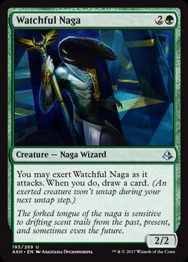 Watchful Naga - Foil