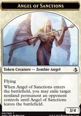 Angel of Sanctions Token on Channel Fireball