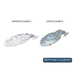 Star Trek: Deep Cuts Unpainted Ships - Intrepid Class