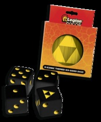 Legion - DICE TIN - ICONIC TRI-FORCE D6