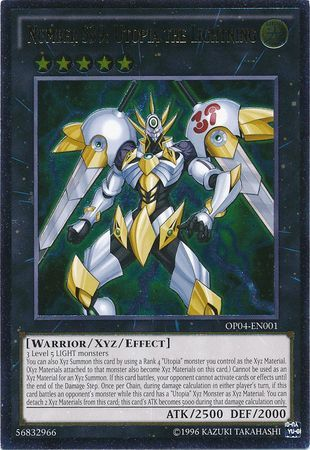 Number S39: Utopia the Lightning - OP04-EN001 - Ultimate Rare - Unlimited Edition