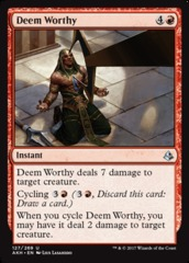 Deem Worthy - Foil