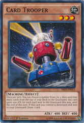 Card Trooper - SR03-EN015 - Common - 1st Edition