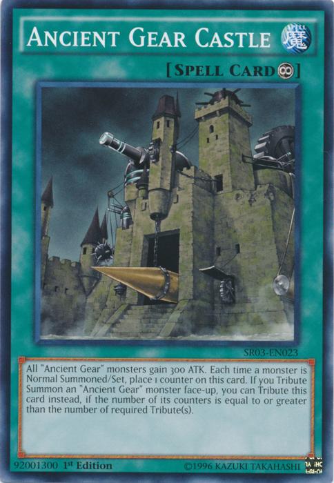 Ancient Gear Castle - SR03-EN023 - Common - 1st Edition