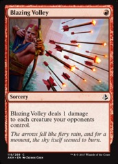 Blazing Volley - Foil