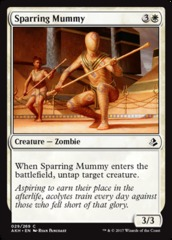 Sparring Mummy - Foil