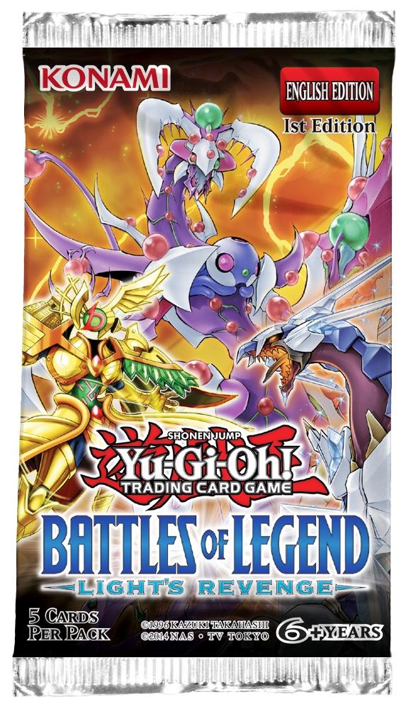 Battles Of Legend: Lights Revenge Booster Pack