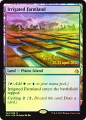 Irrigated Farmland (Amonkhet Prerelease Foil)