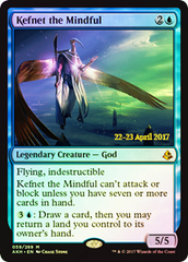 Kefnet the Mindful (Amonkhet Prerelease Foil) on Channel Fireball