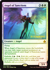 Angel of Sanctions (Amonkhet Prerelease Foil)