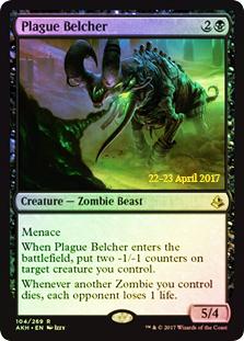 Plague Belcher (Amonkhet Prerelease Foil)