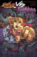 Street Fighter Vs Darkstalkers #2 (Of 8) (Cover A - Huang)