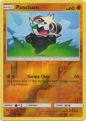 Pancham  - 72/145  - Common - Reverse Holo
