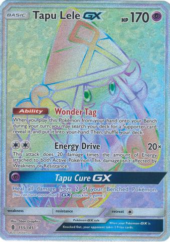 Tapu Lele GX  - 155/145 - Secret Rare