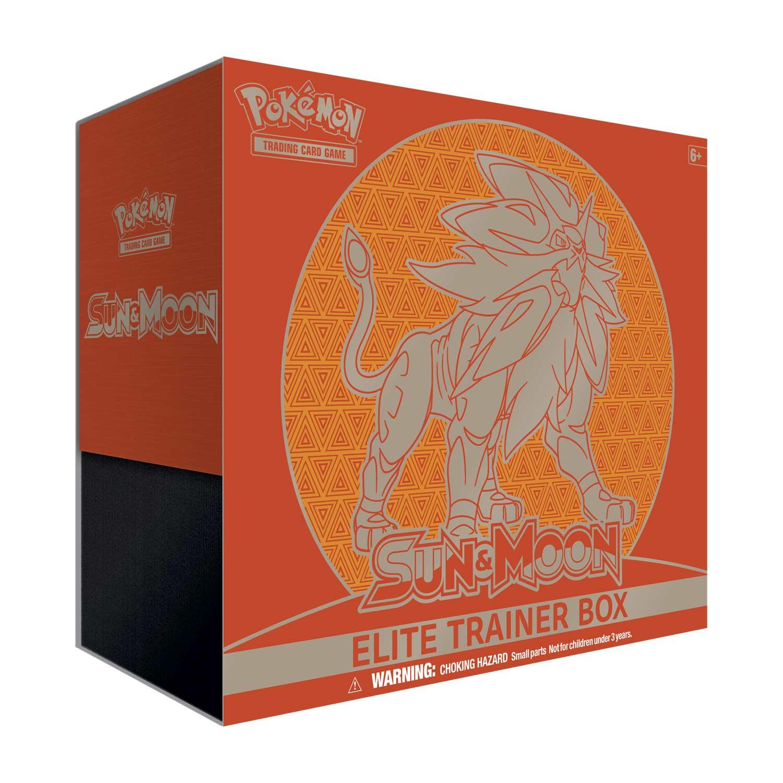 Sun & Moon Elite Trainer Box - Solgaleo