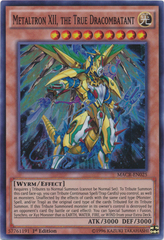 Metaltron XII, the True Dracombatant - MACR-EN025 - Super Rare - 1st Edition