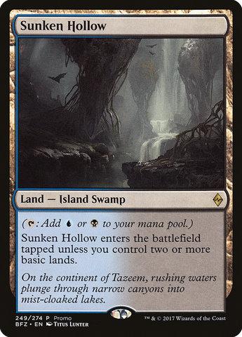 Sunken Hollow - Standard Series Promo