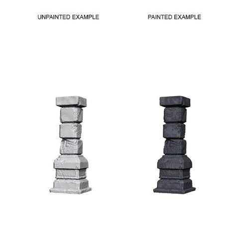 Pathfinder Battles Unpainted Minis - Pillars