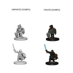 Nolzur's Marvelous Unpainted Miniatures - Dwarf Female Paladin