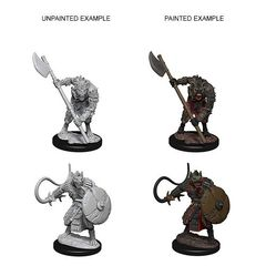 Deep Cuts Unpainted Miniatures - Gnolls