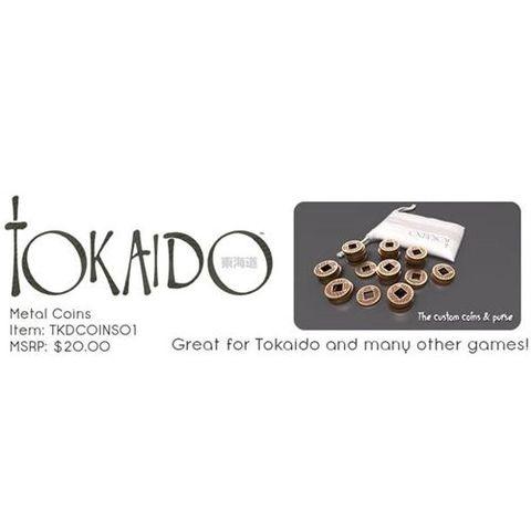 Tokaido: Coins