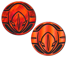 Deoxys Collectible Coin (Red)