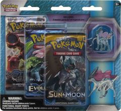 Sun and Moon - Legendary Beasts Suicune 3 Pack Blister