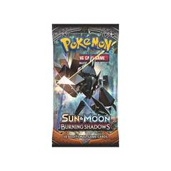 Pokemon Sun & Moon: Burning Shadows Booster Pack on Channel Fireball