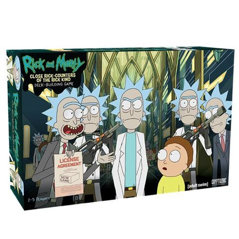 Rick And Morty: Close Rick-Counters Of The Rick Kind - Deck Building Game
