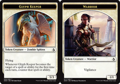 Glyph Keeper Token // Warrior Token