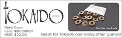 Tokaido Metal Coins