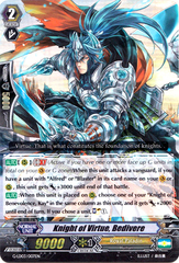 Knight of Virtue, Bedivere - G-LD03/007EN - RRR