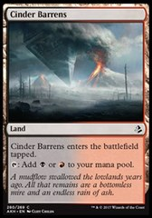 Cinder Barrens (280/269) - Deckbuilder's Toolkit Exclusive Amonkhet