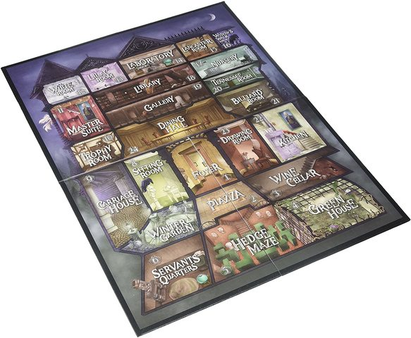 Kill Doctor Lucky: Doctor Luckys Mansion That Is Haunted Expansion Board
