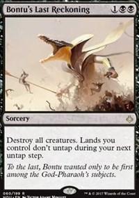 Bontu's Last Reckoning - Foil