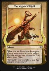 The Mighty Will Fall (Jumbo Card)