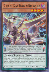 Supreme King Dragon Darkwurm - MACR-EN019 - Common - Unlimited Edition