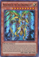 Metaltron XII, the True Dracombatant - MACR-EN025 - Super Rare - Unlimited Edition