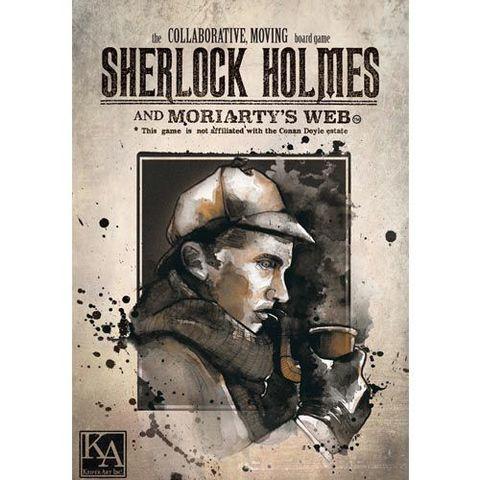 Sherlock Holmes And MoriartyS Web
