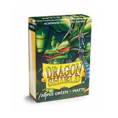 Dragon Shield Japanese Card Sleeves 60ct - Matte Apple Green