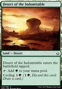 Desert of the Indomitable - Foil