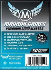 Mayday - Premium Euro Sleeves 59Mm X 92Mm 50Ct