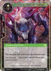 Yggdor, Beast of Disaster - ENW-067 - R - Foil