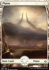 Plains (Full Art) 185 - Foil